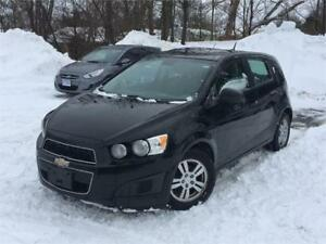 2012 Chevrolet Sonic LS-Gas Saver-comes w/2 set of tires-cert.