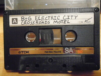 RARE PROMO unknown DEMO CASSETTE TAPE Big Electric City +1 rock '90s UNRELEASED