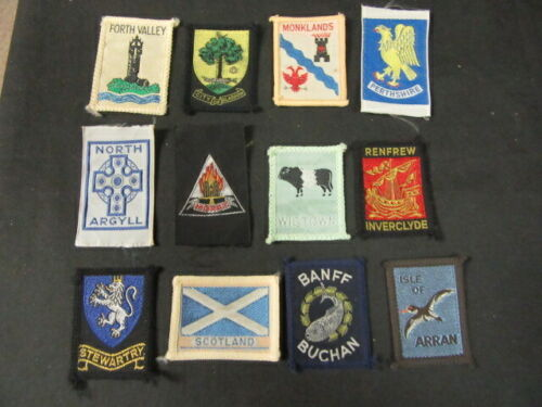 Scotland Lot of 20 Boy Scout Patches      cjprw