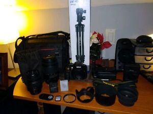 Nikon d5300 with 18-55/55-300 mm Kit