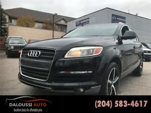 Finance available ! 2008 AUDI Q7 AWD FULLY LOADED
