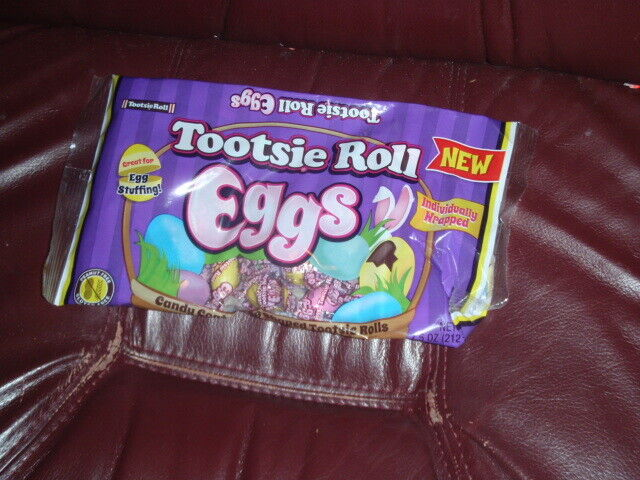 Tootsie Roll Eggs Easter Candy Basket Filler 7.5oz
