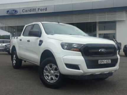 2015 Ford Ranger PX MkII XL Double Cab 4x2 Hi-Rider White 6 Speed Manual Utility Glendale Lake Macquarie Area Preview