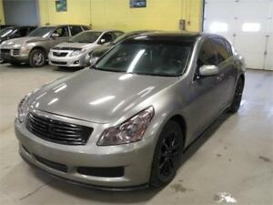 2008 INFINITI G35X-S Sport * SUNROOF * Leather & AWD