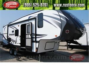NEW 2016 Prowler P22 Fifth Wheel