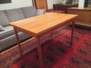 MCM Teak Dining Table Made in Denmark