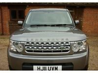 2011 Land Rover DISCOVERY 4 3.0 SD V6 GS