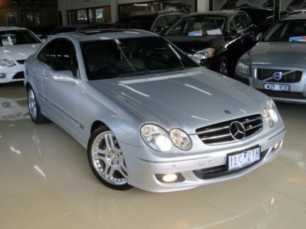 2006 Mercedes-Benz CLK350 C209 MY06 Avantgarde Champagne Silver 7 Speed Automatic G-Tronic Coupe Seaford Frankston Area Preview