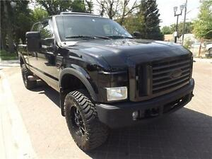 LIFTED 2008 Ford Super Duty F-350   LOADED  DIESEL SUPERCREW!