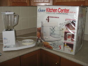 Oster Kitchen Center by Sunbeam Includes 4 Appliances in One