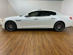 2016 Maserati Quattroporte M156 MY16 White 8 Speed Automatic Sedan Kingsgrove Canterbury Area Preview