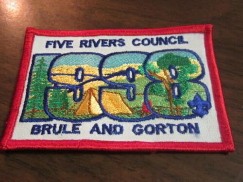 Five Rivers Council Brule and Gorton Pocket Patch       c43