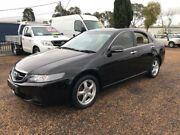 2003 Honda Accord Euro CL Black 5 Speed Automatic Sedan Minchinbury Blacktown Area Preview