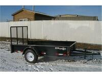 2016 6' X 10Ft Utility / Landscape Trailer (3500 GVWR) Double A