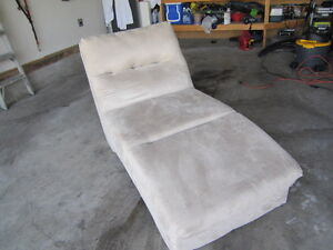 LEATHER COUCH and LOUNGER
