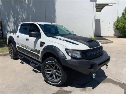 FINANCE FROM $109 PER WEEK* - 2014 FORD RANGER XL 4X4 DIESEL UTE LOAN Hoxton Park Liverpool Area Preview