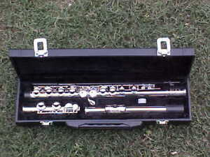 Concert Flute With Engraved Mouthpiece