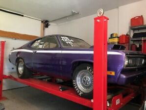 1970 Plymouth Duster Drag Car