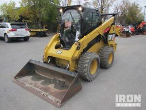 Cat 262D Skid Steer available on IronPlanet.com