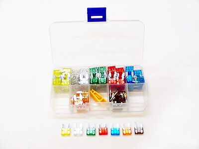 121pc Mini Fuses Stereo Kit 5-30 Amps fits Subaru Wiring Harness Electrical Box