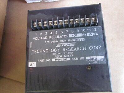 Free Ship Mep-814a Military Generator Voltage Regulator 15kw 400hz Trc 19890-001