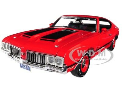 1970 OLDSMOBILE 442 W-30 RED LTD ED 396 PCS 1/18 DIECAST CAR BY ACME A1805608