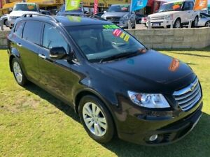 2009 Subaru Tribeca B9 MY09 R AWD Premium Pack Black 5 Speed Sports Automatic Wagon Wangara Wanneroo Area Preview