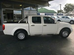 2013 Nissan Navara D40 S7 MY12 RX White 5 Speed Automatic 4D UTILITY Hamilton Newcastle Area Preview
