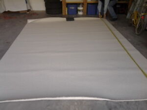 Wool Carpet Remnant (approx 9ft x 12.5 ft)