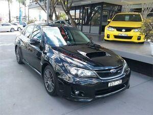 2010 Subaru Impreza G3 WRX Black Manual Sedan Lansvale Liverpool Area Preview