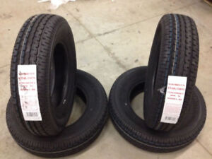 REDUCED - 4 New Road Rider Tires without Rims (ST205/75R15)