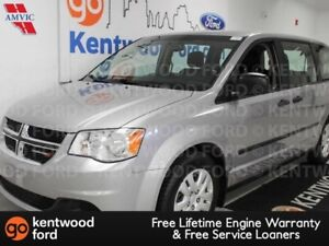 2015 Dodge Grand Caravan Canada Value Package FWD enough space f