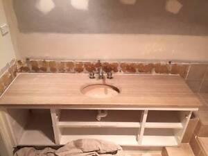 Bathroom stone vanity top - travartine Glenhaven The Hills District Preview
