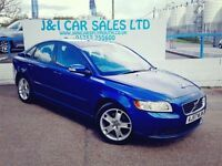 VOLVO S40 2.0 SE D 4d 135 BHP LOW FINANCE RATES AVAILABLE (blue) 2007