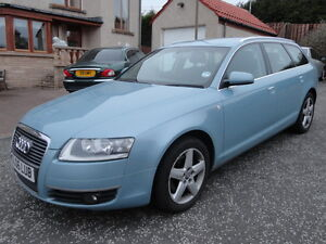 2006 06 AUDI A6 2.0 TDI SE 7 SPEED AUTO ESTATE BLUE MOT TAX(PART EX WELCOME)