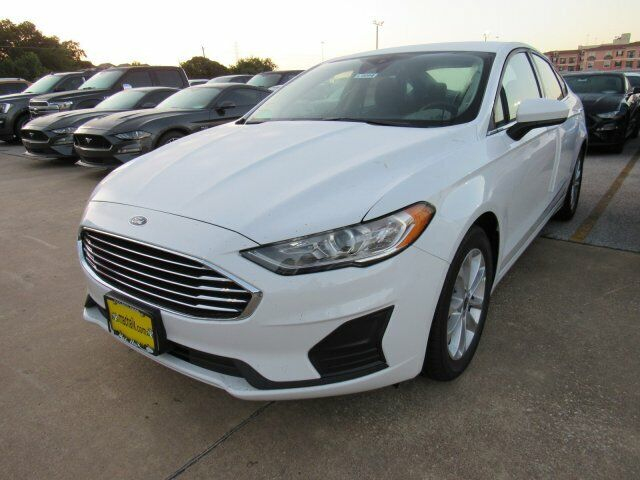 2020 Ford Fusion SE 1121 Miles Oxford White 4dr Car Intercooled Turbo Regular Un