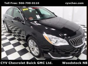 2015 Buick Regal - 0.9% - Heated Leather, 8 Touch Screen & Rear