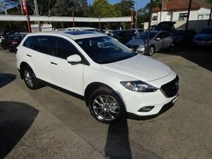 2015 Mazda CX-9 MY14 Grand Touring Pearl White 6 Speed Auto Activematic Wagon Sylvania Sutherland Area Preview