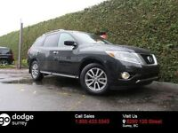 2015 Nissan Pathfinder SV 4X4 + 7 PASSENGER + LEATHER + HEATED F