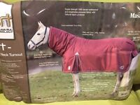 HORSE TURNOUT RUG 6' WITH FIXED NECK - BRAND NEW STILL IN PACAKAGING