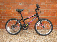 Girls bike suitable for age 5+