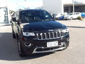 2015 Jeep Grand Cherokee WK MY15 Overland Black 8 Speed Sports Automatic Wagon Rockingham Rockingham Area Preview