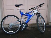 Ammaco Mens Suspension Mountain Bike