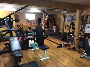 Personal Training Fitness Studio for Lease (Fully Equipped)