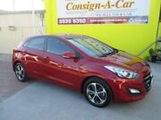 2016 Hyundai i30 GD4 Series II MY17 Active X DCT Red 7 Speed Sports Automatic Dual Clutch Hatchback Bundall Gold Coast City Preview