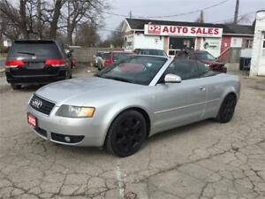 2003 Audi A4 Automatic/2 YR Warranty/Leather/Certified