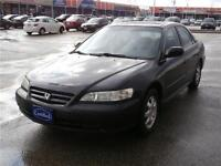 2001 Honda Accord EXL,CERTIFY 3 YEARS P-T WARRANTY AVAILABLE