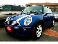 2005 MINI Copper , Leather,Double Sunroof,Everything Power,Alloy