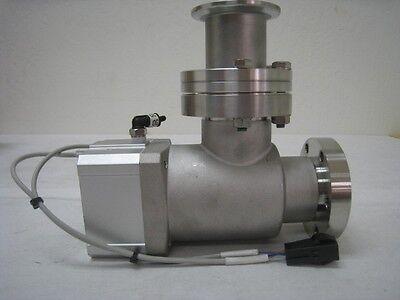 "SMC XMA-40C-X626 Right angle vacuum isolation valve. Metal seal conflat 2 1/4"","
