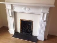 HARDWOOD FIREPLACE SURROUND FOR SALE